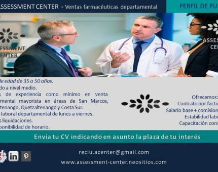 ¡¡ VISÍTENOS !!  #PlazasVacantes #AssessmentCenter #Guatemala #Personal