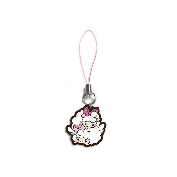 Tasty Peach Studios — Twin Sheep Charm ($3.25) ❤ liked on Polyvore featuring sheep charm, peach jewelry, charm pendant, sheep jewelry and charm jewelry