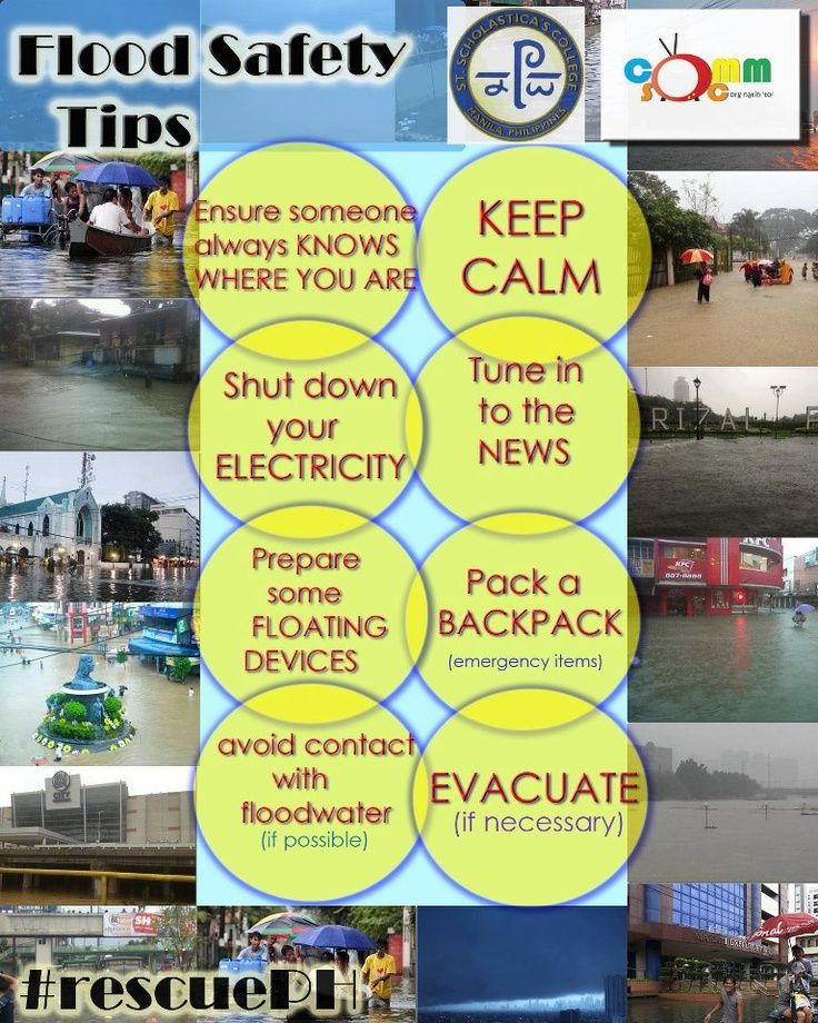 Flood safety tips Infographic FloodInsurance Flood