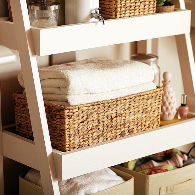 Photo On Weatherby Bathroom Corner Storage Cabinet