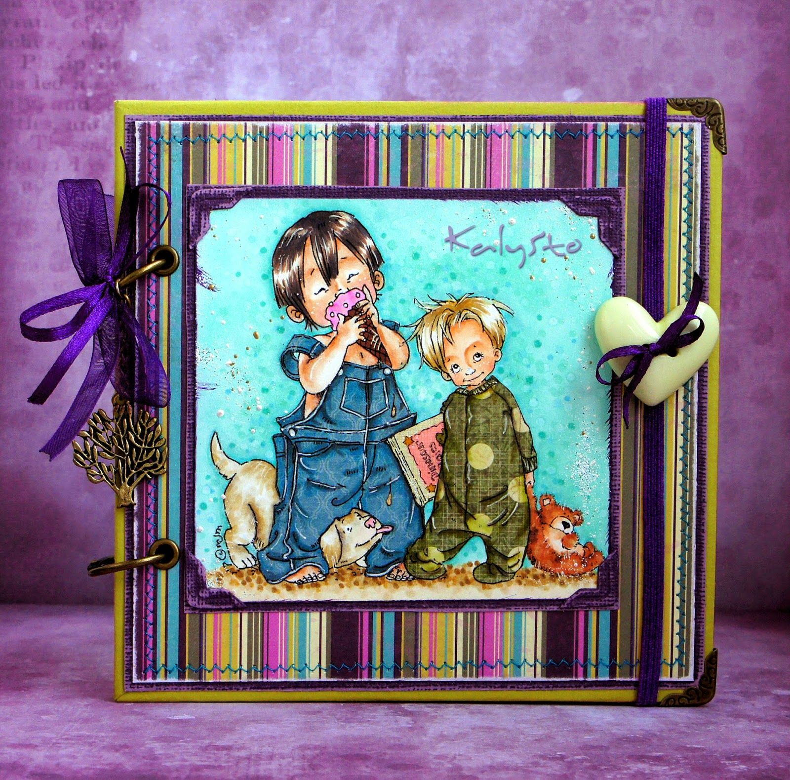 Mos dream team card making projects kids cards