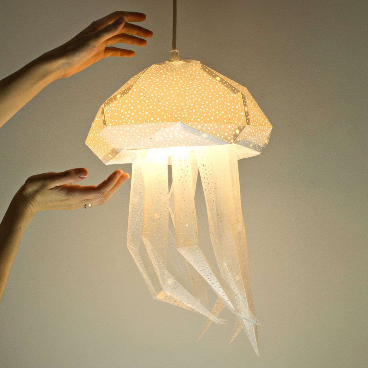 Paper Light Shades Diy Papercraft Light Shades Of Aquatic Life By Vasili Awesome