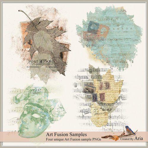 Art Fusion Samples : Scrap Art Studio, Where Creativity Soars