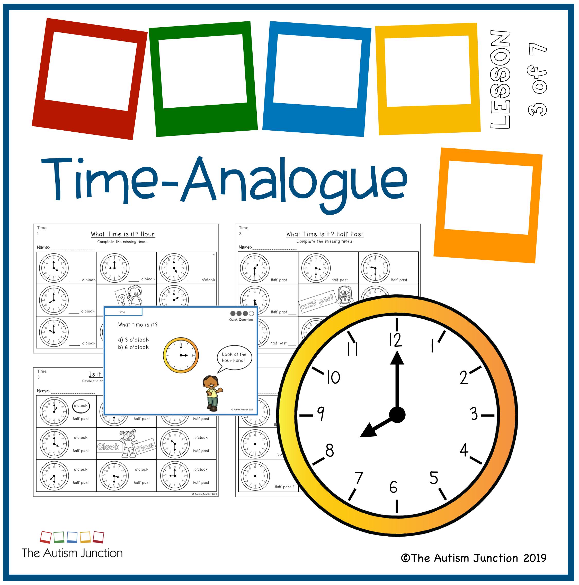 Timeogue Clock Math 1st Grade