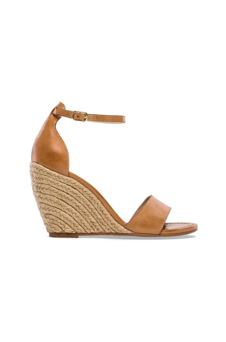 Seychelles Thyme Wedge in Luggage Leather $95