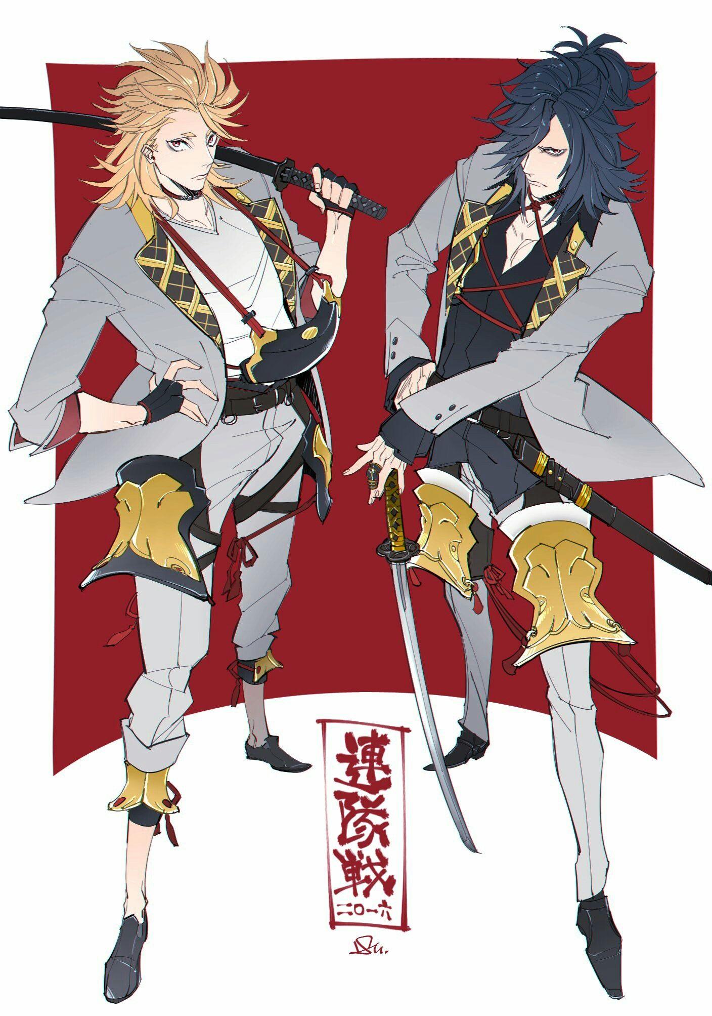 「Touken Ranbu (刀剣乱舞)」おしゃれまとめの人気アイデア|Pinterest|Sokvattana