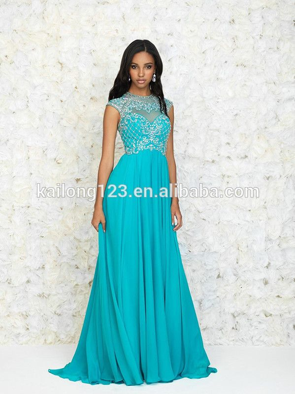 Vestido azul tiffany 2019