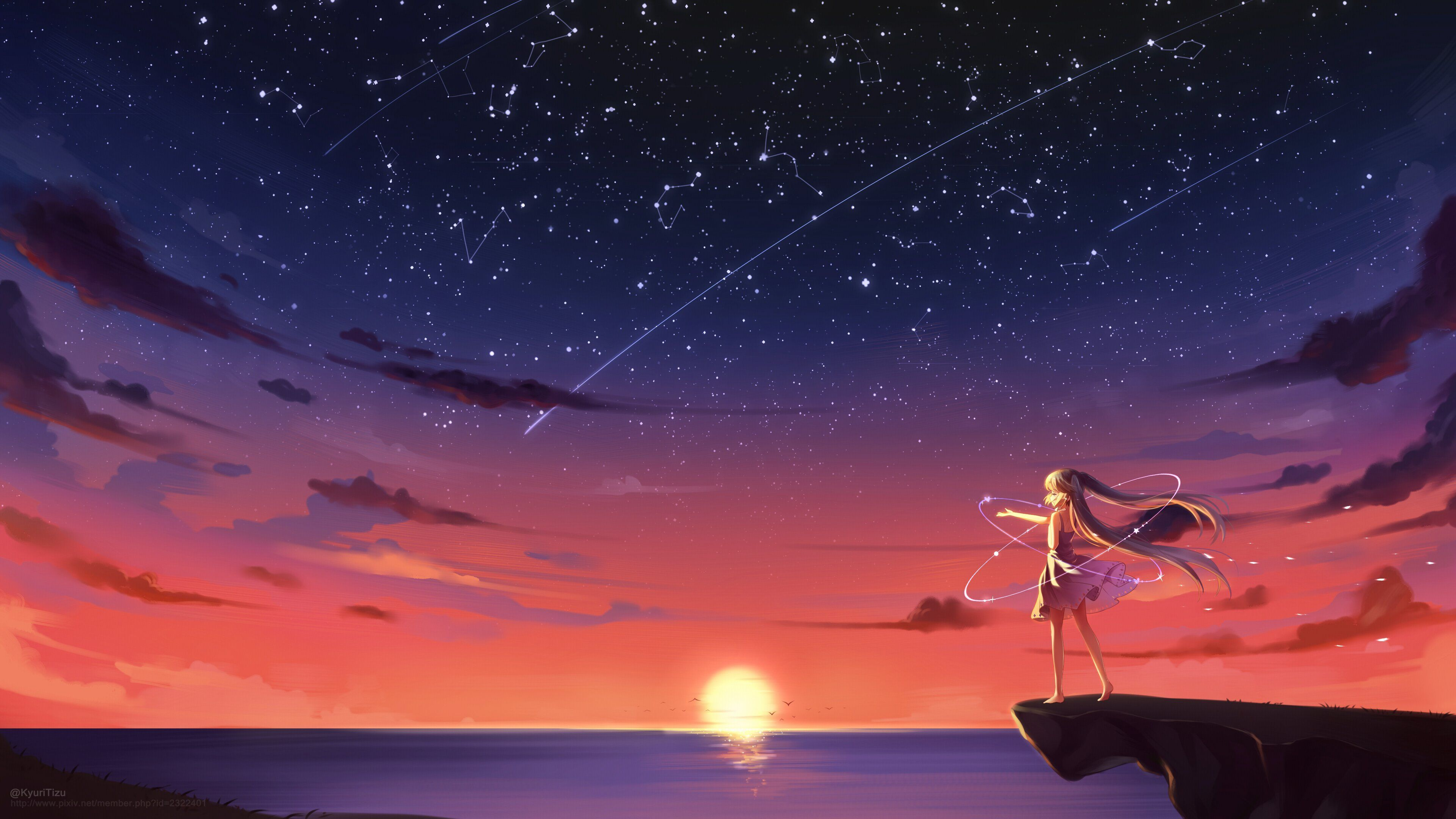 Pin By Cameron G On Art Ideas In 2020 Anime Scenery Anime Scenery Wallpaper Sunset Wallpaper