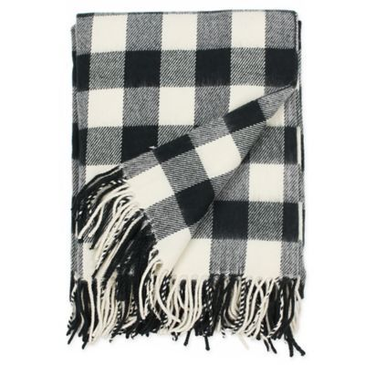 Rustic Flannel Throw Blanket In Black White Oversized Throw Blanket Blanket Flannel Blanket