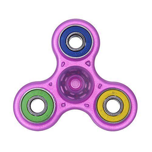 Cheap price Luweki Glowing Hand Spinner focus Toys EDC Fidget Spinner Toy Austism ADHD Education