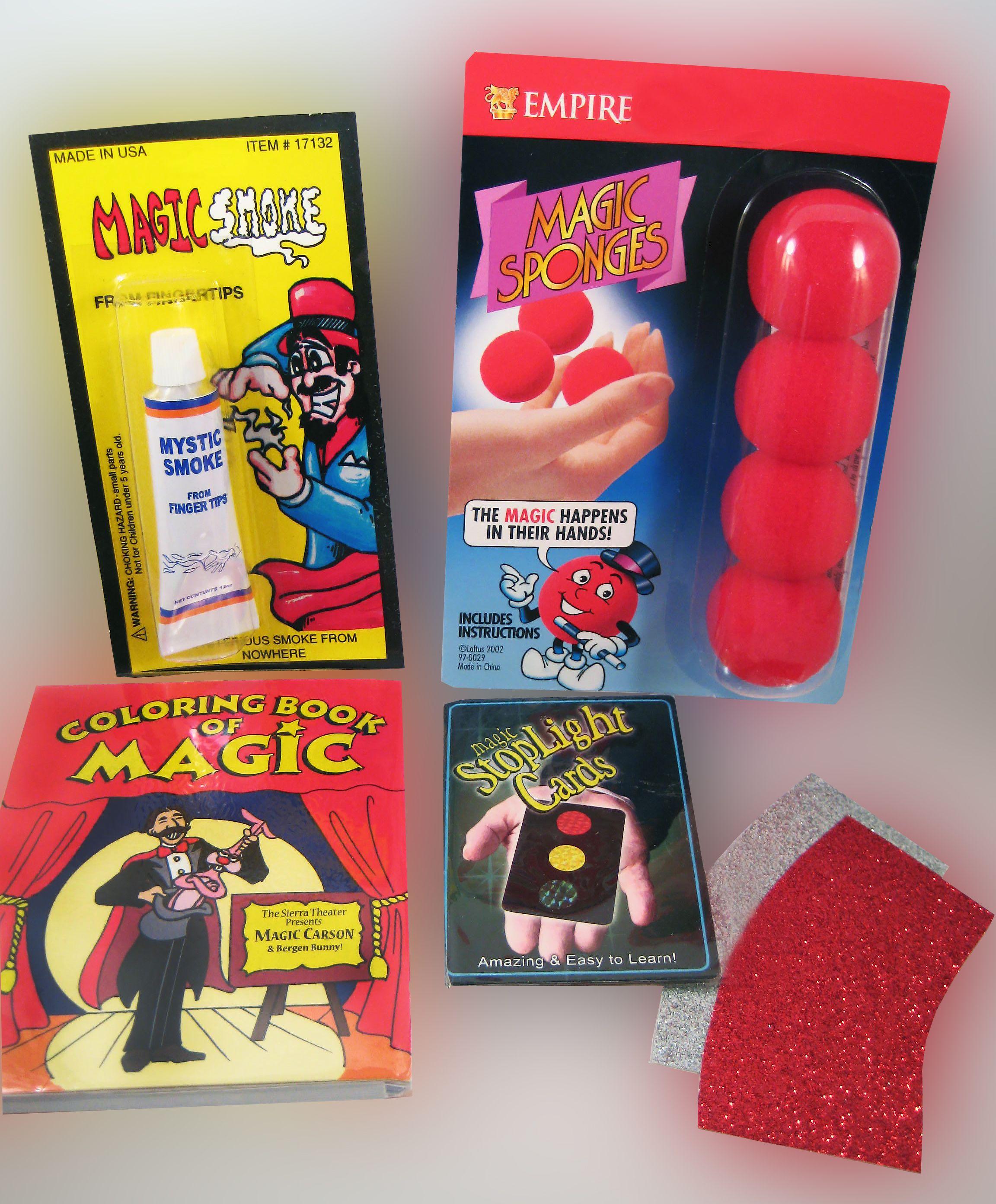 Starter Magic Kit 3 Easy Magic Tricks Amazing Magic Tricks Card Tricks