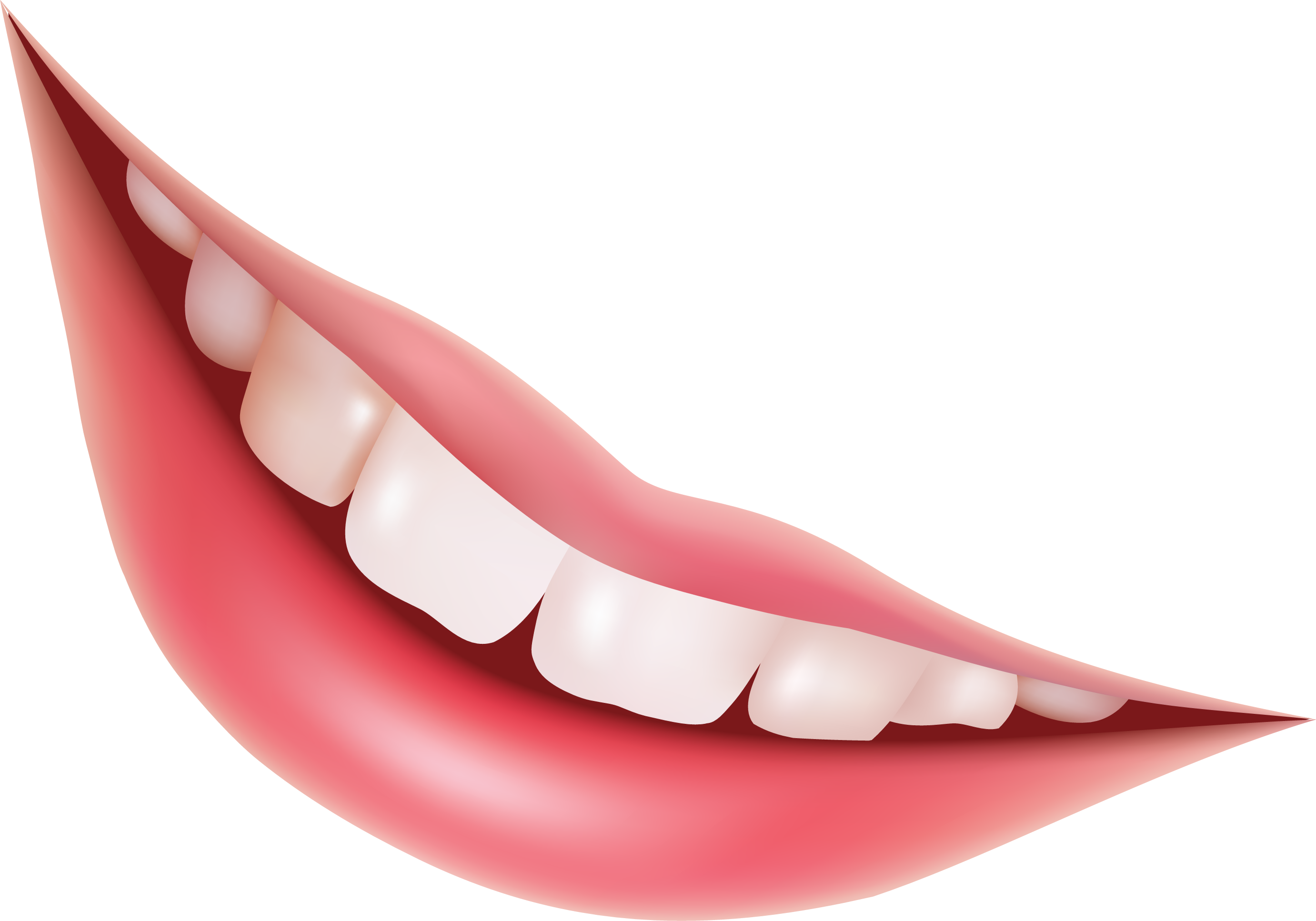 Mouth Smile Png Image Portable Image Teeth Image