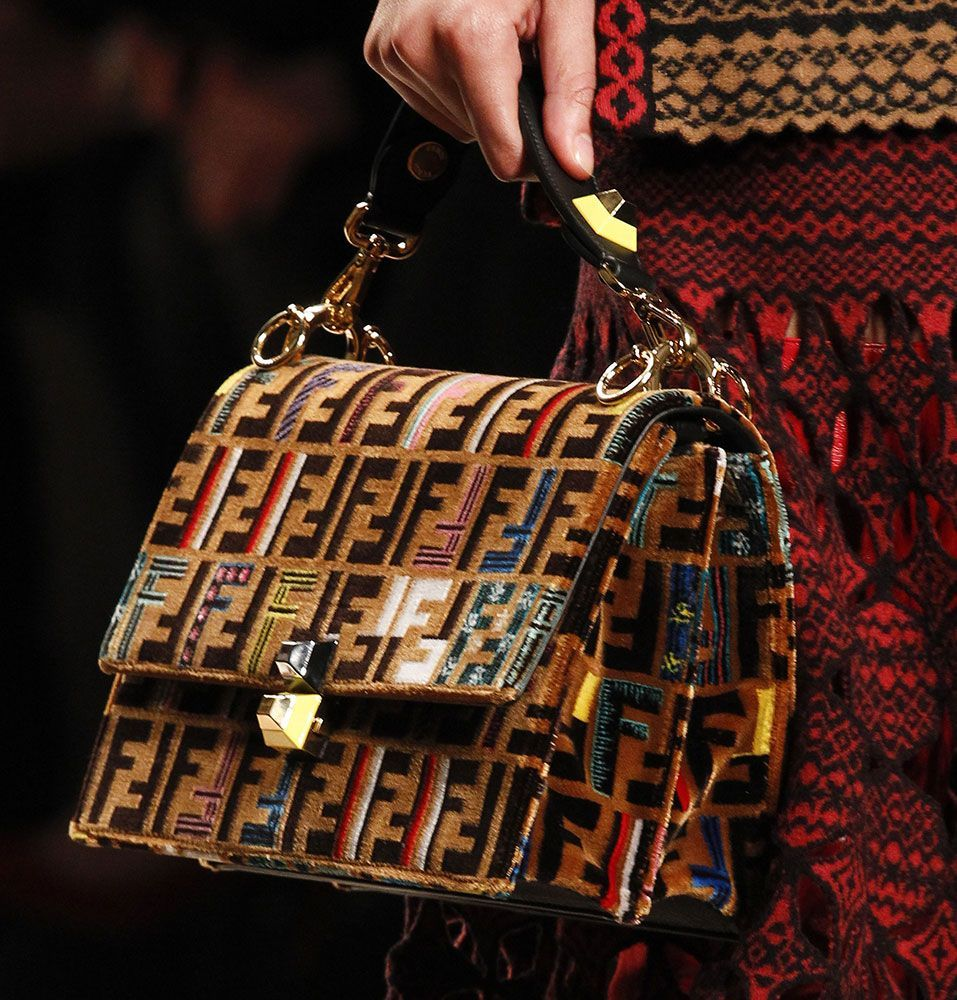 ba4240ead7 Fendi Debuts New Logo Hardware and Tons of New Bags for Fall 2017 -  PurseBlog