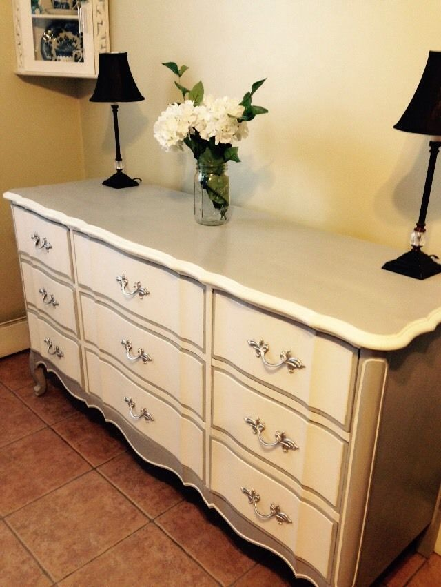 6 Drawer Long French Provincial Dresser Dixie Frenchprovincial
