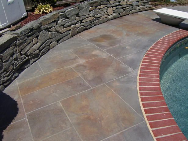 Unique Outdoor Flooring Ideas Patio