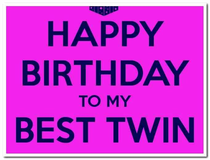 Happy Birthday Wishes To My Twin Brothers Archidev