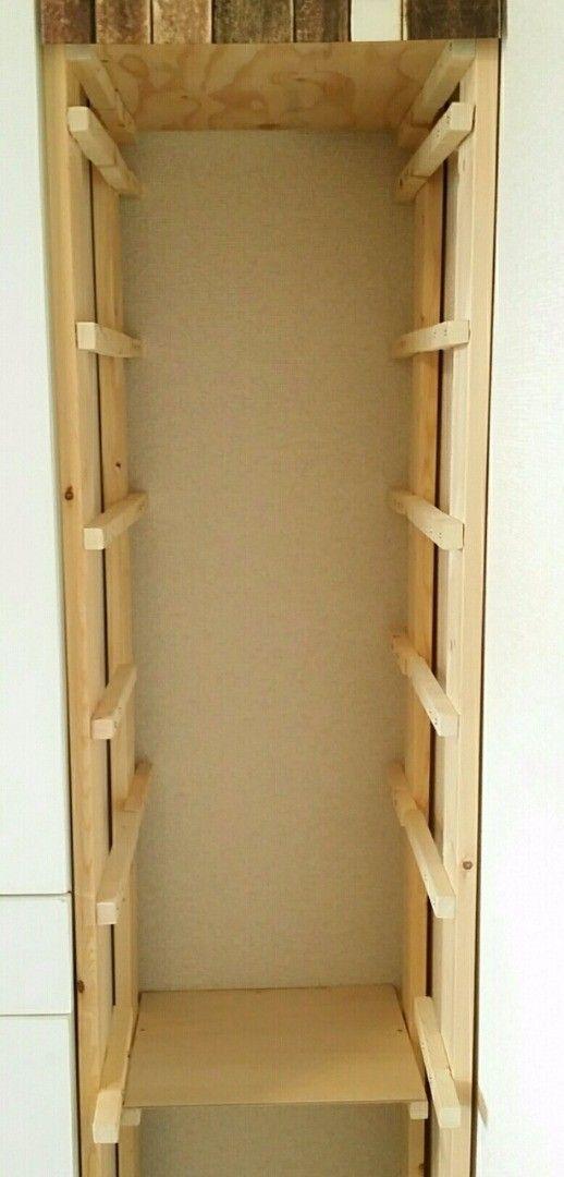棚板要らない ダイソーのかごを使って キッチン収納をdiy