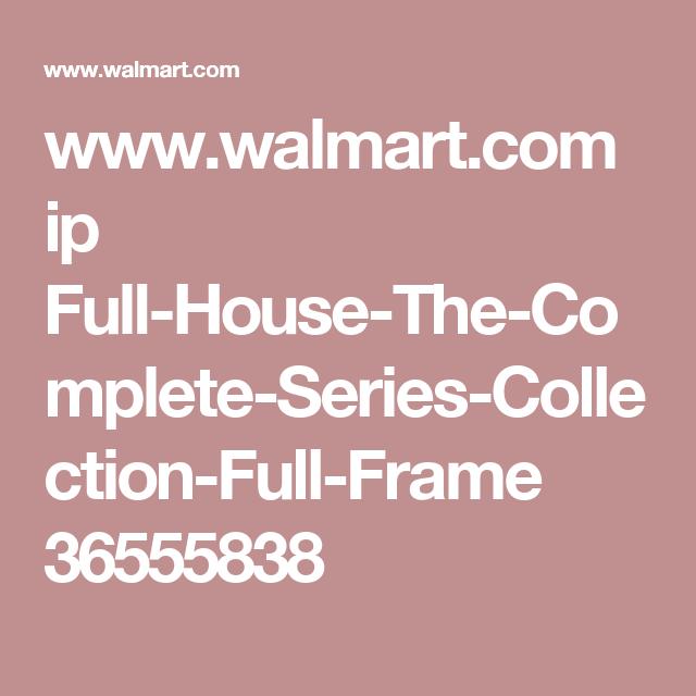Full House Dvd At Walmart