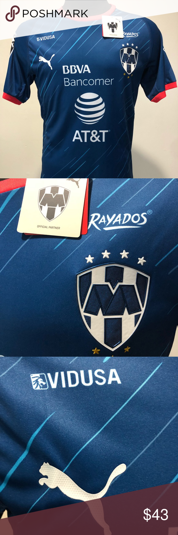 e62ea3193 Monterrey Away Jersey 2018-2019 Los Rayados enjoyed a successful past  season