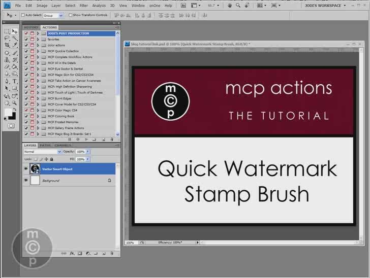 how to remove watermark in photoshop cs6