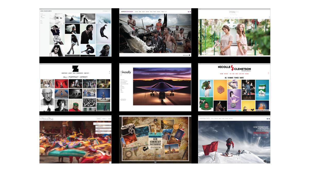 PhotoSheltercom Website Templates Image Gallery Showing And - Photoshelter templates