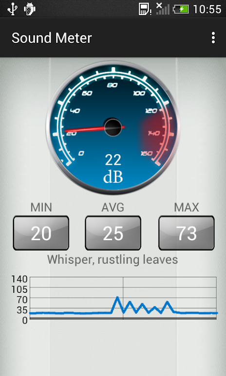 android db meter application