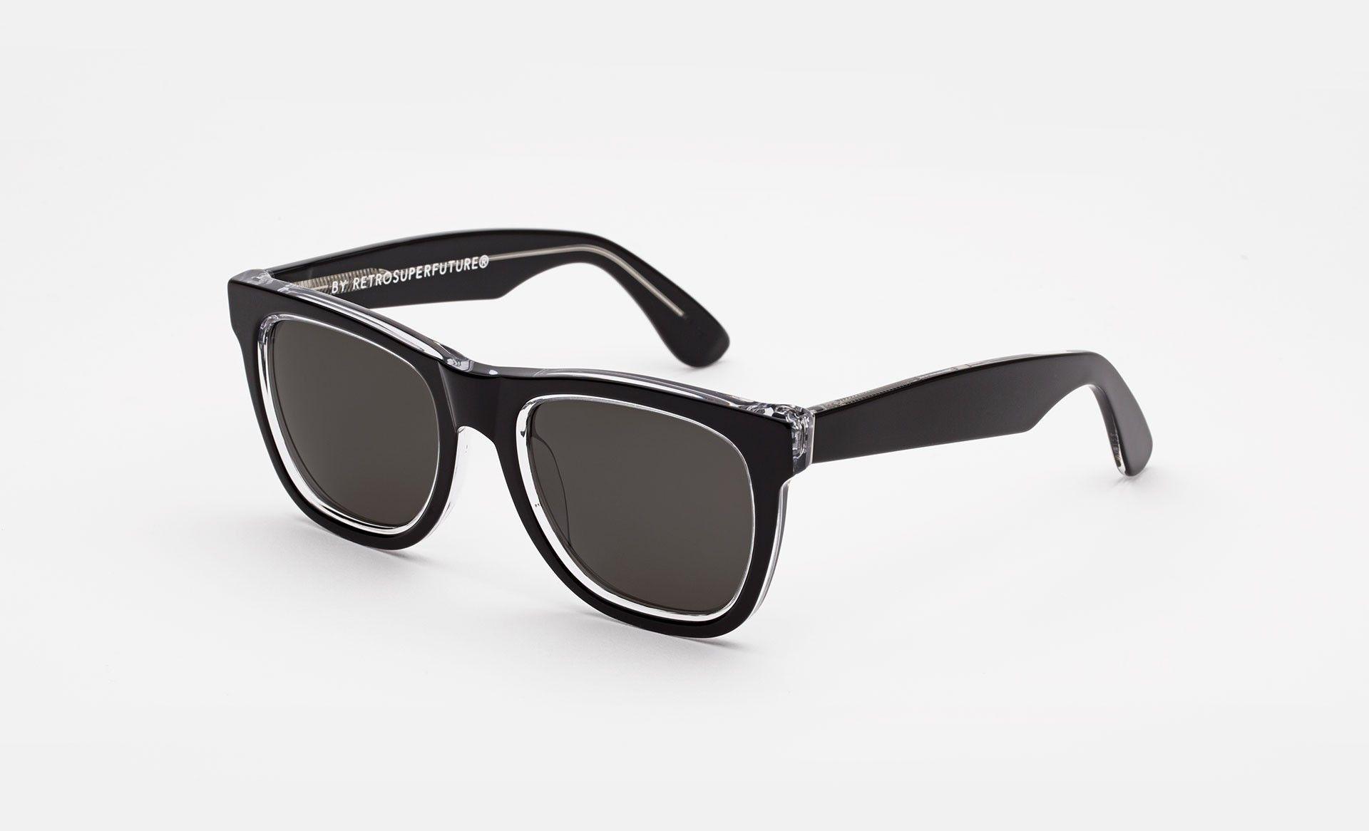 Super - Classic Achromatic Sunglasses   Sunglasses   Pinterest 01aa3a014360