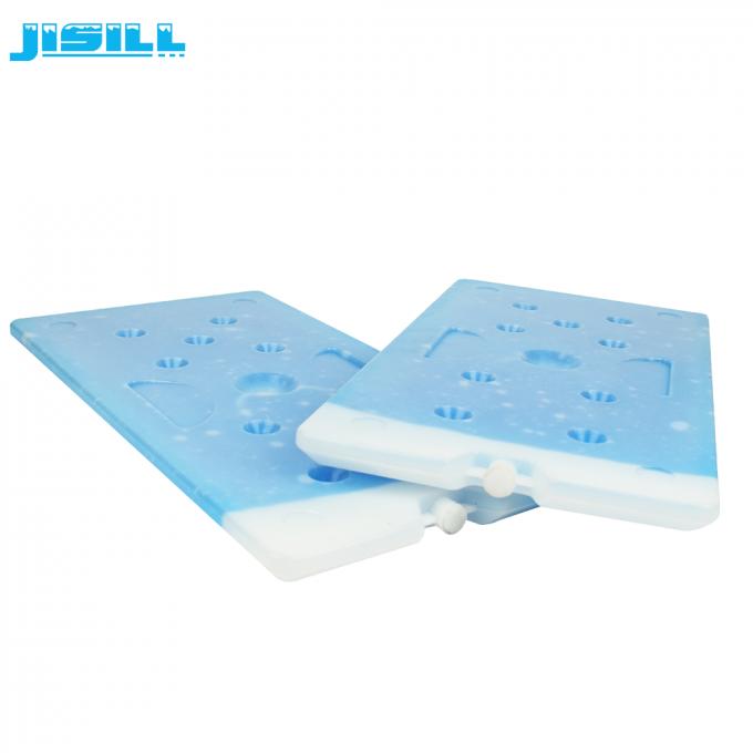 Plastic Large Cooler Ice Packs Blue Ice Brick Pcm Cooler 2600g Weight Large Cooler Packing A Cooler Ice Pack