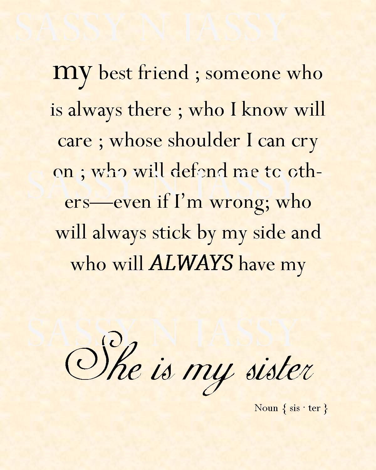 Love and miss my sisters | #Quotistic#quotes | Sister quotes, Best