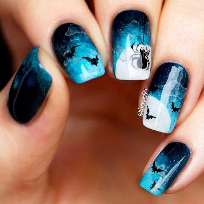 23 frightfully awesome halloween nail art ideas 23 frightfully awesome halloween nail art ideas halloween nails easy design cute solutioingenieria Image collections