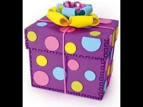Caja sorpresa de cumplea os diy youtube creativity - Sorpresa cumpleanos amiga ...