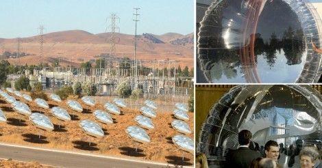 Estos globos solares están diseñados para multiplicar increíblemente las posibilidades de los paneles solares tradicionales.