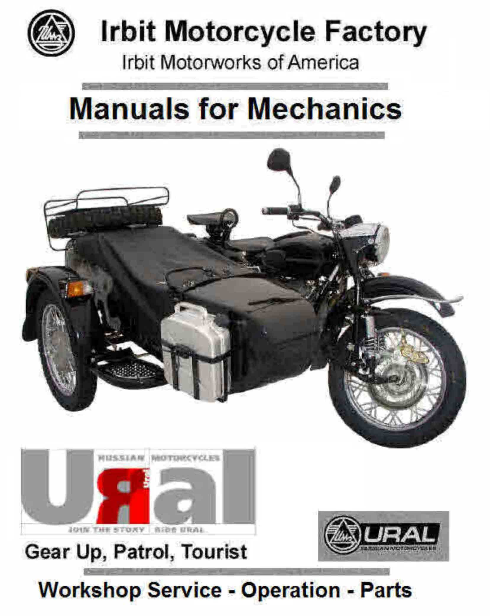 ural motorcycle manauls for mechanics pinterest rh pinterest com ural 650 repair manual ural workshop manual