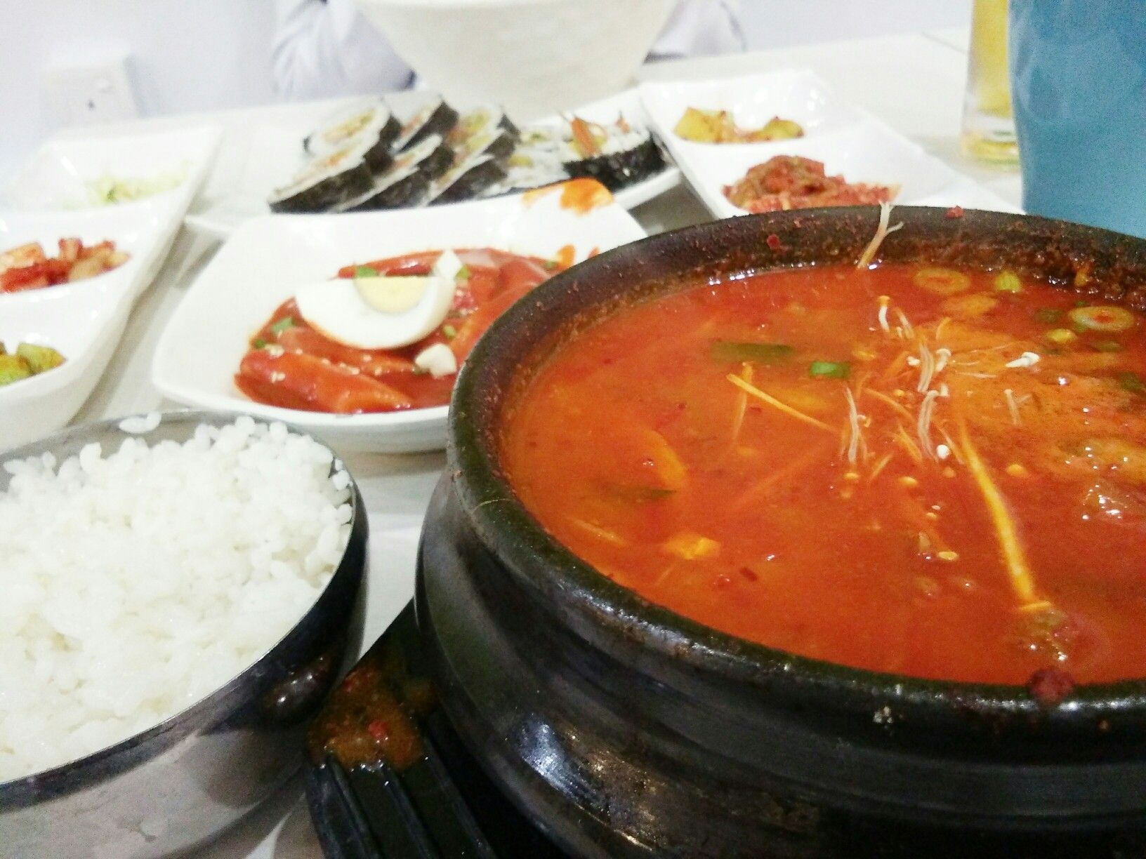 Korean Foods Sopong Tamanmelawatimall Kuala Lumpur Malaysia With My Little Sister Food Korean Food Love Eat