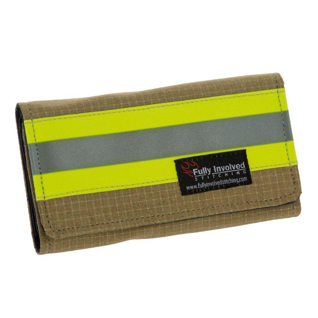 Women's Firefighter Wallet Made From Turnout Bunker Gear