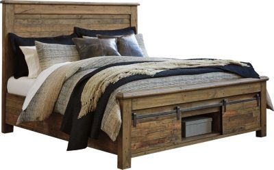 Ashley Sommerford King Storage Bed Homemakers Furniture Bed Design Bed Storage Bed Designs