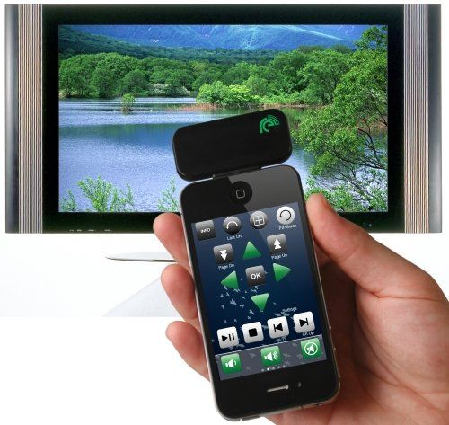 Re iPhone Universal Remote Control – Infrared Remote Control Accessory for iPhone, iPad and iPod touch