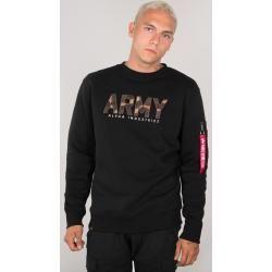 Alpha Industries Army Camo Sweatshirt Schwarz Mehrfarbig L Alpha Industries Inc.
