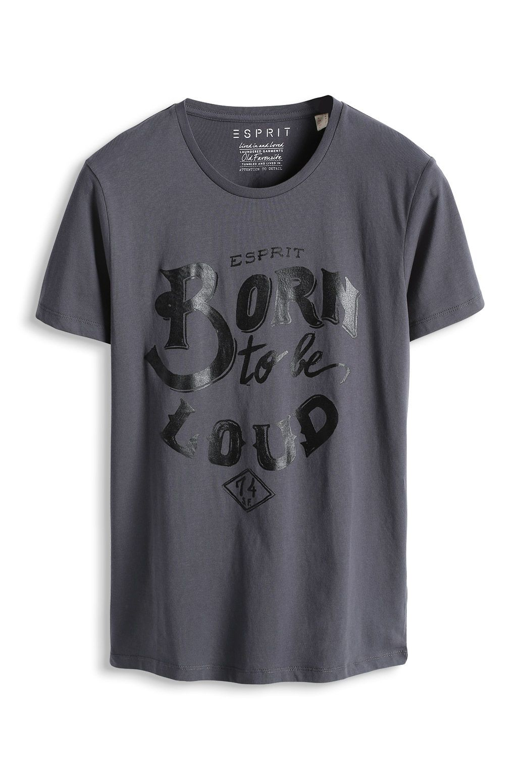 www.davidemartini.ink for Esprit - Baumwoll Jersey Print T-Shirt im Online c14b140468219