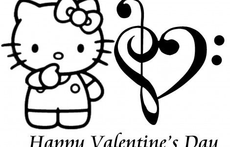 Hello Kitty With Heart Balloons Coloring Page Hello Kitty Coloring Hello Kitty Colouring Pages Kitty Coloring