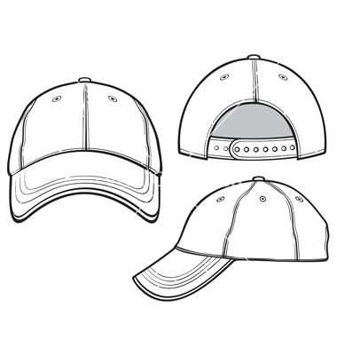 Baseball Cap Vector 1351264 Jpg 380 400 Fashion Design Drawings Cap Drawing Fashion Design Template