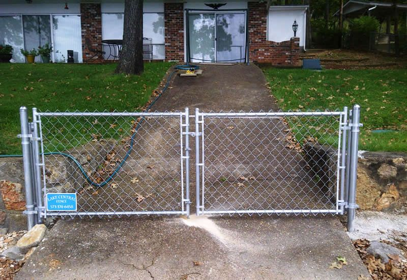 Chain Link Fence Gate | Chain Link Fence | Pinterest | Chain link ...