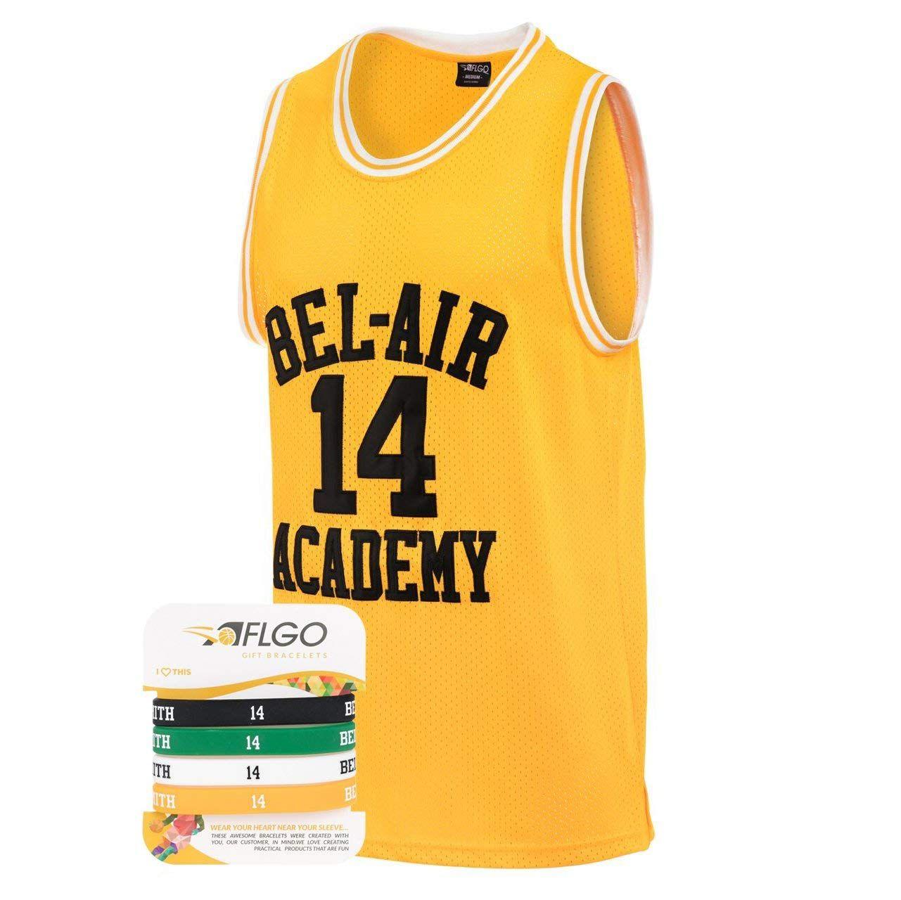 AFLGO Fresh Prince of Bel Air 14 Basketball Jersey SXXXL
