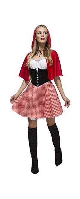 Werbung Fever Kollektion Rotkäppchen Kostüm mit Kleid