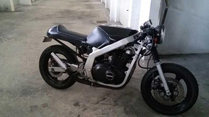 Gs500 Cafe Racer Kit – Idea di immagine del motociclo