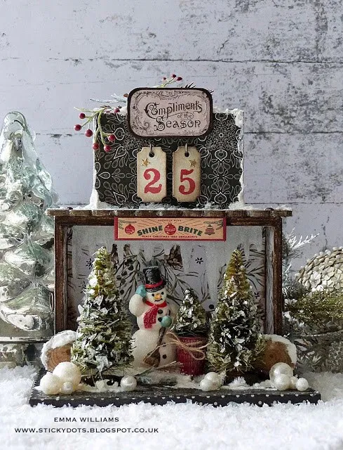 Christmas Countdown Box Christmas Countdown Christmas Decorations Outdoor Christmas Tree