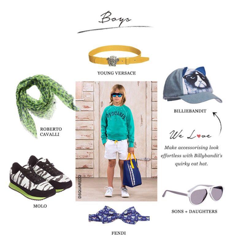 Boys fashion #childrensalon