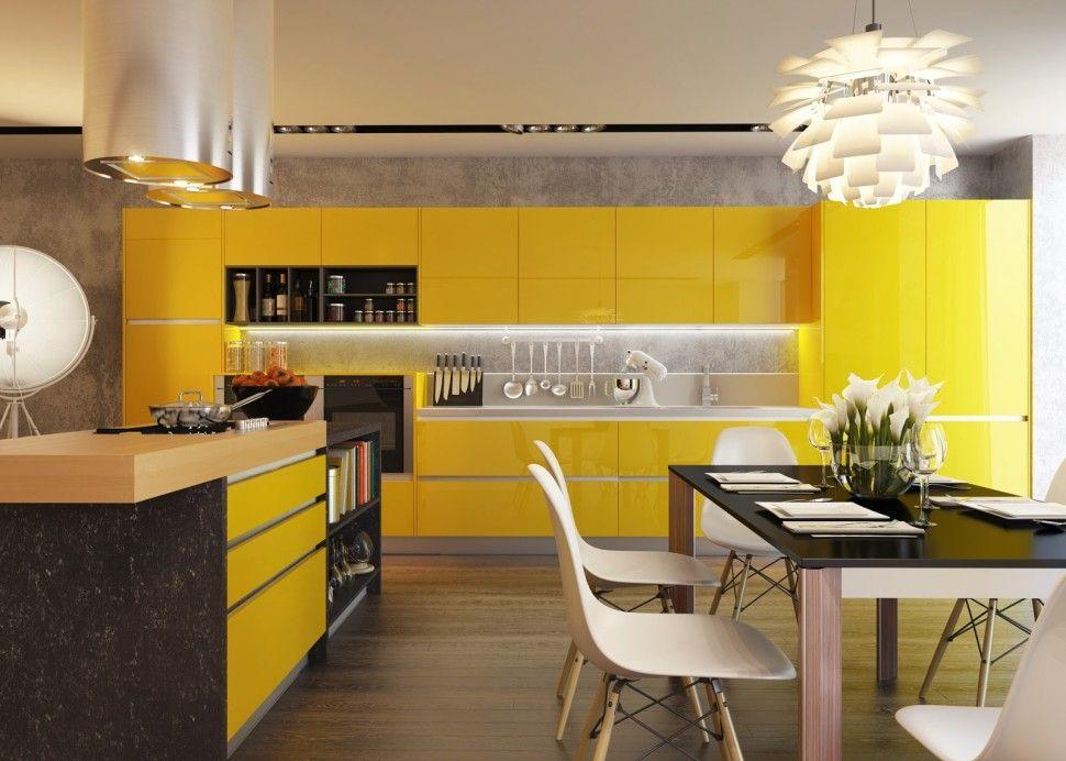 Interior Eco Friendly Interior Design Concept For Small House Unique Modern Contemp Interior Design Kitchen Contemporary Kitchen Interior Modern Kitchen Design