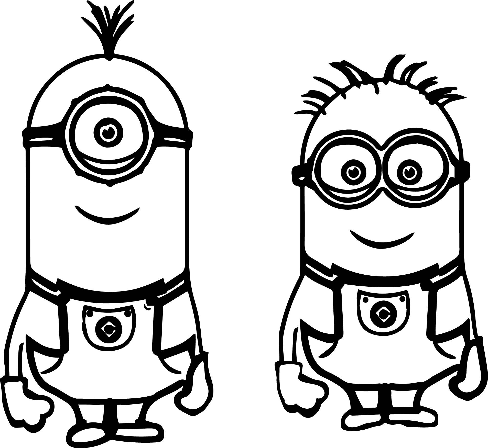 Minion Coloring Pages Printable For Kids Minions Coloring Pages Minion Coloring Pages Minion Drawing