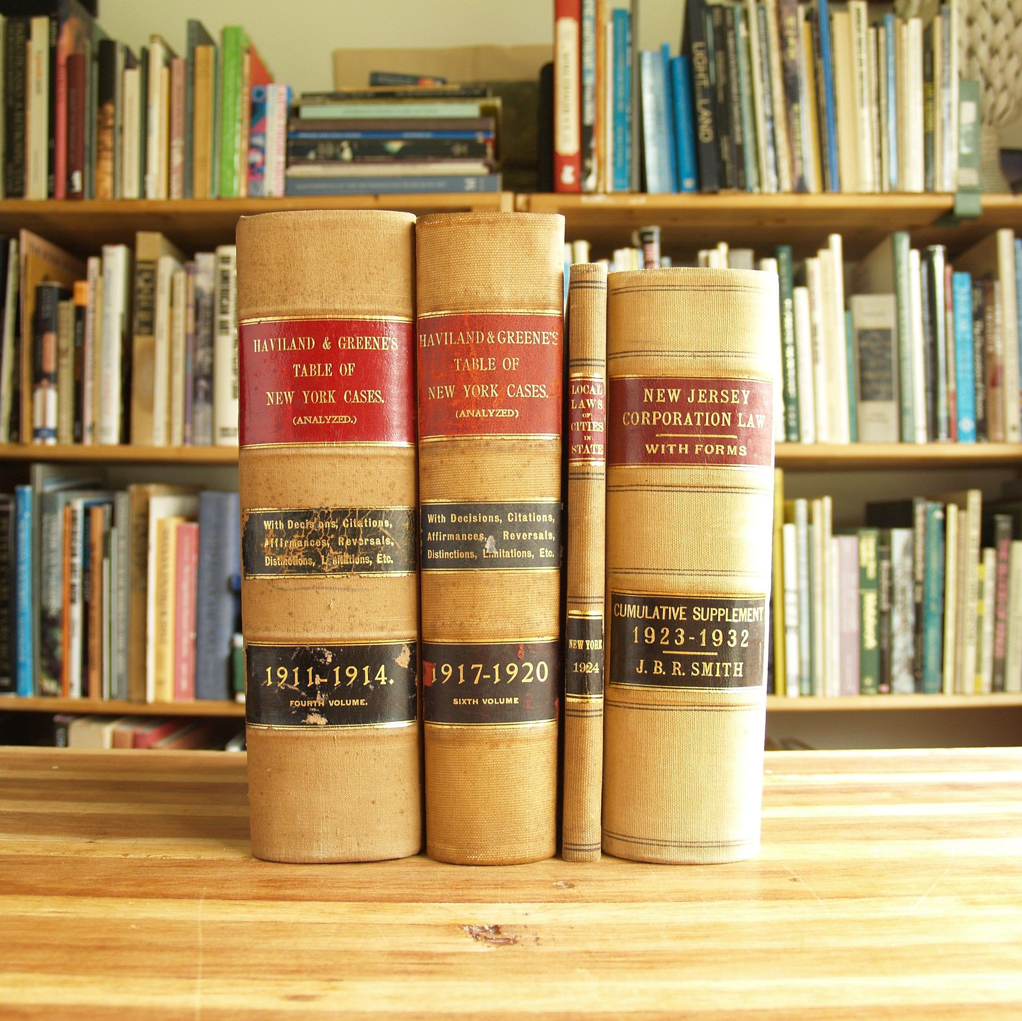 Four Antique And Vintage Law Books From The 1910s 30s In Beige Bindings Free Us Shipping Law Books Books Vintage